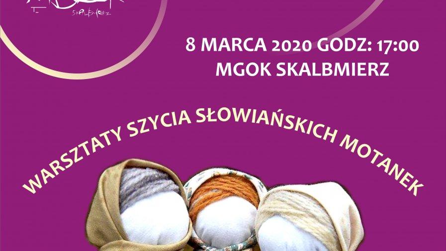 Warsztaty szycia słowiańskich motanek.
