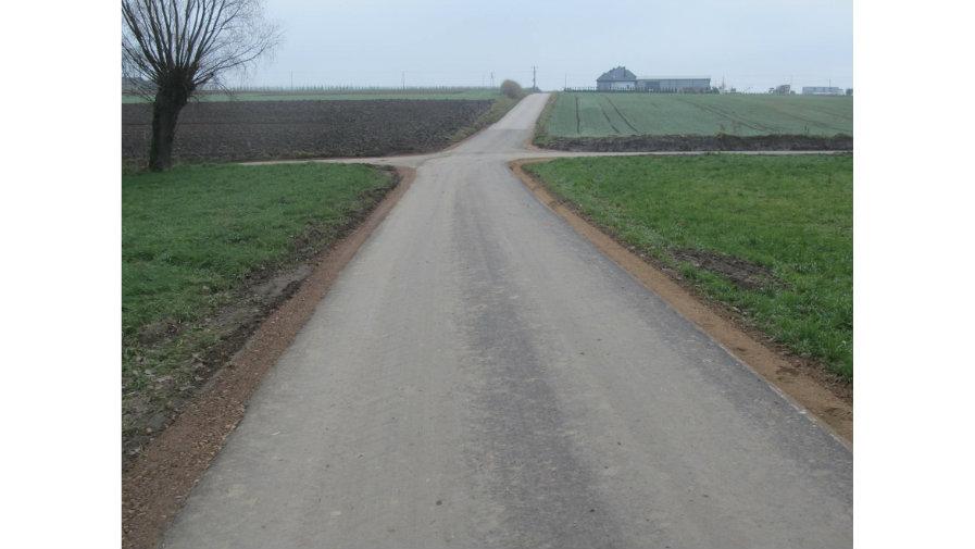 Modernizacja dróg dojadowych w Baranowie