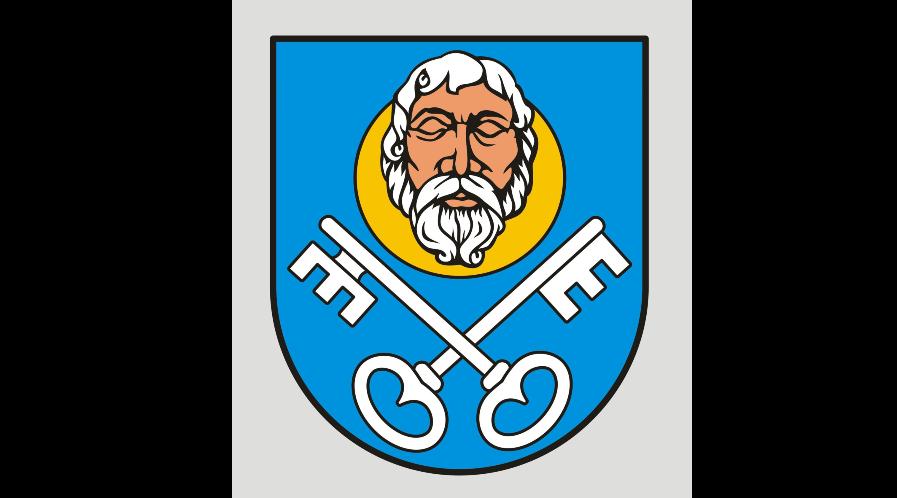 Pozytywna opinia Komisji Heraldycznej projektów herbu, flagi, sztandaru, łańcuchów i pieczęci oraz Odznaki Honorowej Miasta i Gminy Skalbmierz