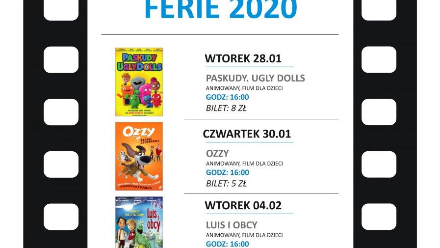 """FERIE 2020 w Kinie """"Lotnik"""""""